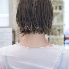 ショートヘア フェミニン ショートボブ ボブ ヘアスタイルや髪型の写真・画像
