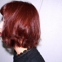 ボブ ストリート おフェロ ゆるふわ ヘアスタイルや髪型の写真・画像