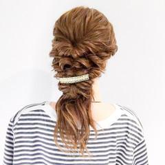 大人女子 ヘアアレンジ ショート 上品 ヘアスタイルや髪型の写真・画像