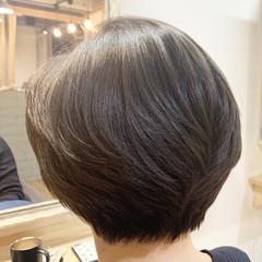 ショートヘア エレガント ボブ ショートボブ ヘアスタイルや髪型の写真・画像