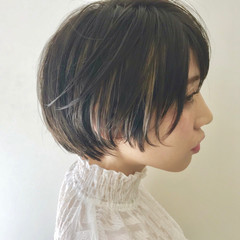 黒髪 ナチュラル こなれ感 小顔 ヘアスタイルや髪型の写真・画像