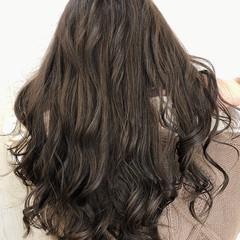 切りっぱなしボブ ロング インナーカラー ショートボブ ヘアスタイルや髪型の写真・画像