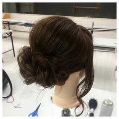 ねじり ヘアアレンジ ロング ゆるふわ ヘアスタイルや髪型の写真・画像