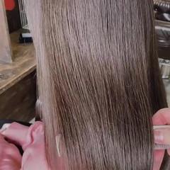 艶髪 ナチュラル 髪質改善トリートメント 髪質改善カラー ヘアスタイルや髪型の写真・画像