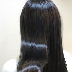 アッシュ モード ダークアッシュ 黒髪 ヘアスタイルや髪型の写真・画像