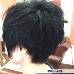 丸顔 ベース型 ストリート ナチュラル ヘアスタイルや髪型の写真・画像