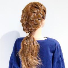 大人女子 アウトドア ヘアアレンジ 簡単ヘアアレンジ ヘアスタイルや髪型の写真・画像