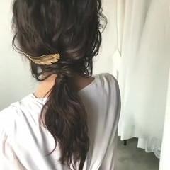 ロング ブライダル 外国人風 エレガント ヘアスタイルや髪型の写真・画像