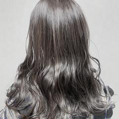 切りっぱなしボブ ショートヘア ナチュラル セミロング ヘアスタイルや髪型の写真・画像