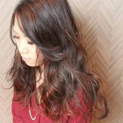 ロング ストリート ヘアアレンジ ゆるふわ ヘアスタイルや髪型の写真・画像