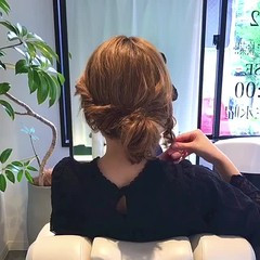 ロング リラックス デート フェミニン ヘアスタイルや髪型の写真・画像
