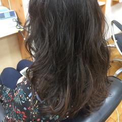 ウェーブ 上品 エレガント ロング ヘアスタイルや髪型の写真・画像