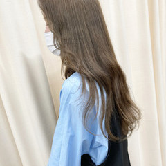 透明感カラー 外国人風カラー 大人カジュアル 大人女子 ヘアスタイルや髪型の写真・画像