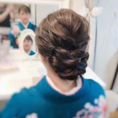 結婚式 お呼ばれ ヘアアレンジ ロング ヘアスタイルや髪型の写真・画像