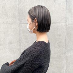 インナーカラー モード ショートヘア ショート ヘアスタイルや髪型の写真・画像