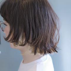 ボブ インナーカラー ストリート マッシュ ヘアスタイルや髪型の写真・画像