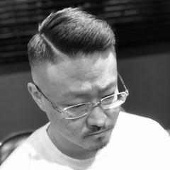 刈り上げ スキンフェード メンズカット ナチュラル ヘアスタイルや髪型の写真・画像