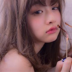 アンニュイ 外国人風 デート ウェーブ ヘアスタイルや髪型の写真・画像