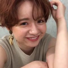 かっこいい オレンジ 小顔 マッシュ ヘアスタイルや髪型の写真・画像