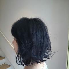ナチュラル ヘアアレンジ 黒髪 外ハネ ヘアスタイルや髪型の写真・画像