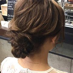 フェミニン 卒業式 ヘアアレンジ ヘアセット ヘアスタイルや髪型の写真・画像