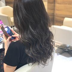 シルバーアッシュ 外国人風カラー シルバー 外国人風 ヘアスタイルや髪型の写真・画像