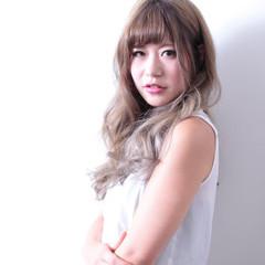 ナチュラル グラデーションカラー アッシュ 渋谷系 ヘアスタイルや髪型の写真・画像
