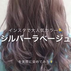 透明感 オフィス イルミナカラー 大人かわいい ヘアスタイルや髪型の写真・画像