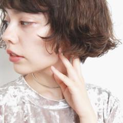 ボブ ストリート 外国人風 ニュアンス ヘアスタイルや髪型の写真・画像