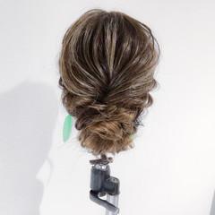 ヘアアレンジ 女子会 デート ロング ヘアスタイルや髪型の写真・画像