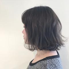 ハイライト デート 外ハネ ナチュラル ヘアスタイルや髪型の写真・画像