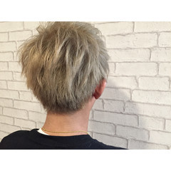 ボーイッシュ メンズ ストリート ヘアアレンジ ヘアスタイルや髪型の写真・画像