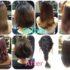 ヘアアレンジ アッシュ ロング 暗髪 ヘアスタイルや髪型の写真・画像