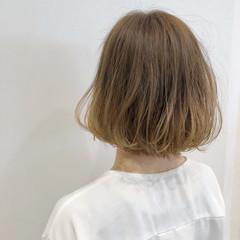 フェミニン ショートボブ ボブ ヘアスタイルや髪型の写真・画像
