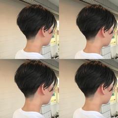 ショート モード 刈り上げ ジェンダーレス ヘアスタイルや髪型の写真・画像