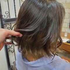 コントラストハイライト ナチュラルグラデーション グラデーションカラー フェミニン ヘアスタイルや髪型の写真・画像