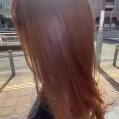 ロングヘア シアーベージュ ロング フェミニン ヘアスタイルや髪型の写真・画像