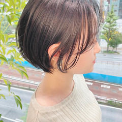 大人かわいい ショートボブ ショートヘア ショート ヘアスタイルや髪型の写真・画像