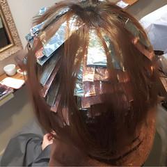 アッシュ ナチュラル 暗髪 外国人風 ヘアスタイルや髪型の写真・画像