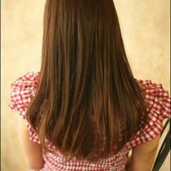 ロング モテ髪 愛され ブラウン ヘアスタイルや髪型の写真・画像
