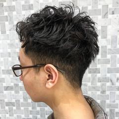 メンズヘア ナチュラル メンズカット くせ毛風 ヘアスタイルや髪型の写真・画像