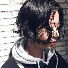 似合わせ ストリート マッシュ 小顔 ヘアスタイルや髪型の写真・画像