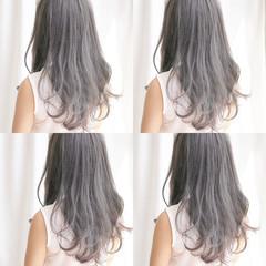 秋 透明感 ナチュラル ウェーブ ヘアスタイルや髪型の写真・画像