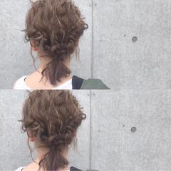 外国人風 デート ボブ ナチュラル ヘアスタイルや髪型の写真・画像