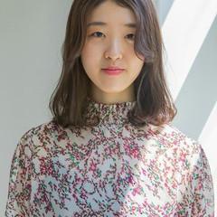 パーマ 韓国風ヘアー ボブ ナチュラル ヘアスタイルや髪型の写真・画像
