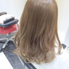 モテ髪 ゆるふわ セミロング コンサバ ヘアスタイルや髪型の写真・画像