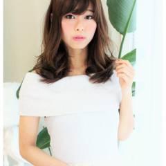 モテ髪 春 ロング フェミニン ヘアスタイルや髪型の写真・画像