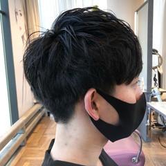 ショート ショートヘア メンズ ナチュラル ヘアスタイルや髪型の写真・画像