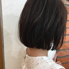 オフィス ナチュラル ボブ 簡単ヘアアレンジ ヘアスタイルや髪型の写真・画像