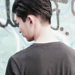 ウェットヘア ストリート 刈り上げ メンズ ヘアスタイルや髪型の写真・画像